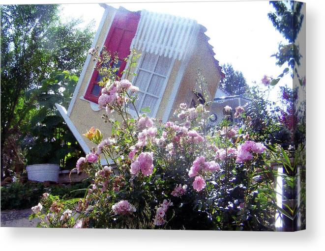Upside Down Canvas Print featuring the photograph Oops by P Maure Bausch