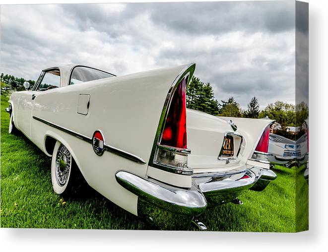 Chrysler Canvas Print featuring the photograph 300 C by Paul Barkevich