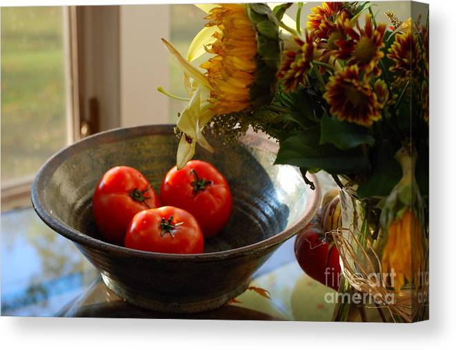 Still Life Canvas Print featuring the photograph Autumn Still Life II by Andrea Simon