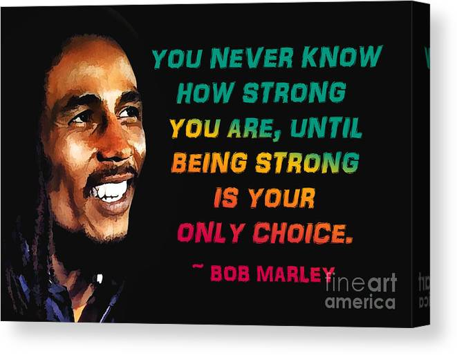 BOB MARLEY HIS QUOTE  PHOTO PICTURE PRINT ON   FRAMED CANVAS   WALL ART DECOR