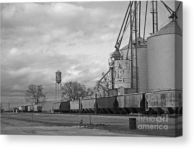 Train Canvas Print featuring the photograph Days Gone By by Michelle Hastings