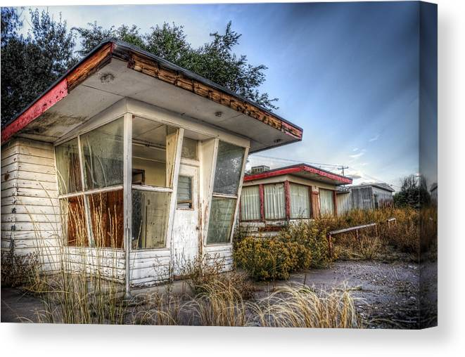 Abandoned Canvas Print featuring the photograph Every Day Is Exactly The Same 2 by Wayne Stadler