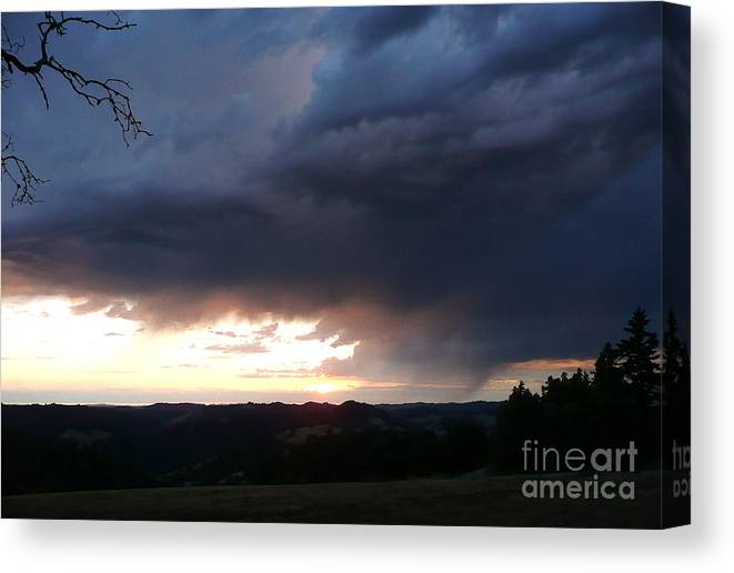 Nature Canvas Print featuring the photograph Heaven Speaks by JoAnn SkyWatcher