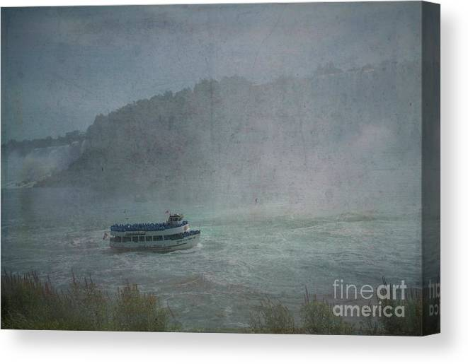 Maid Of The Mist Canvas Print featuring the photograph Maid Of The Mist by Luther Fine Art