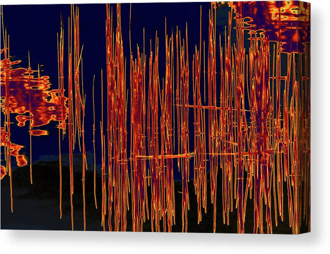 Water Canvas Print featuring the photograph On The Way To Tractor Supply 3 26 by Gary Bartoloni