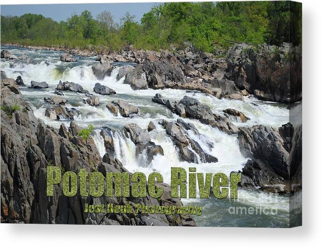Potomac River Canvas Print featuring the photograph Potomac River by Jost Houk