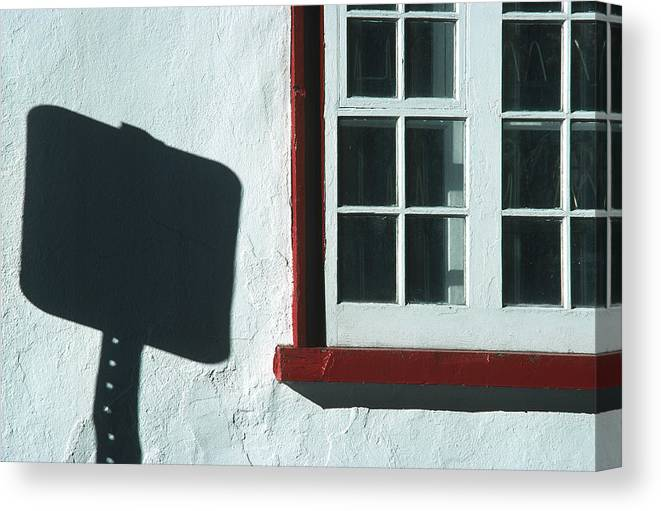 Quebec Canvas Print featuring the photograph Quebec Shadow 2 by Art Ferrier