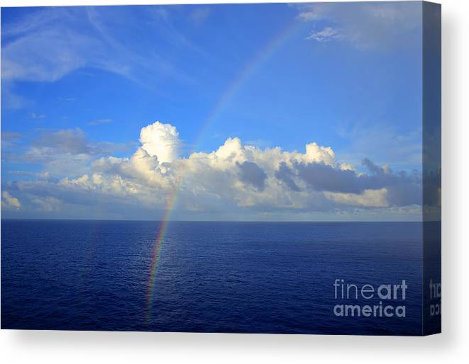 Rainbow Canvas Print featuring the photograph Rainbow Dreams by Vicki Minor