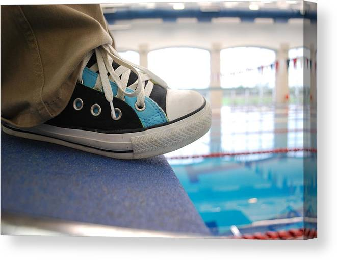 Shoes Canvas Print featuring the photograph Shoes by Scout Nivers