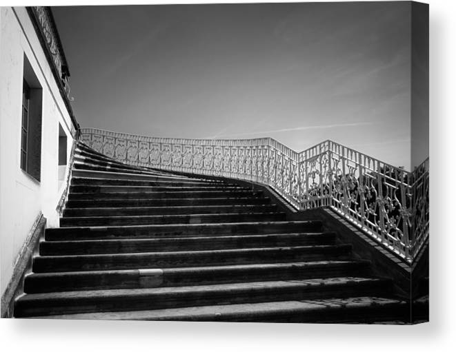Scenery Canvas Print featuring the photograph The Kings Steps by Dorit Fuhg