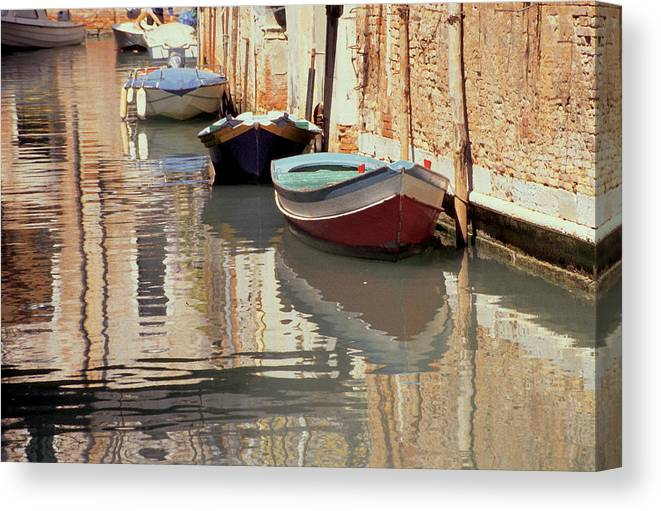 Venice Canvas Print featuring the photograph Venice by T Monticello