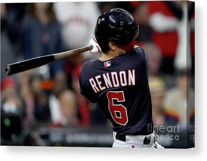 People Canvas Print featuring the photograph World Series - Washington Nationals V 16 by Elsa