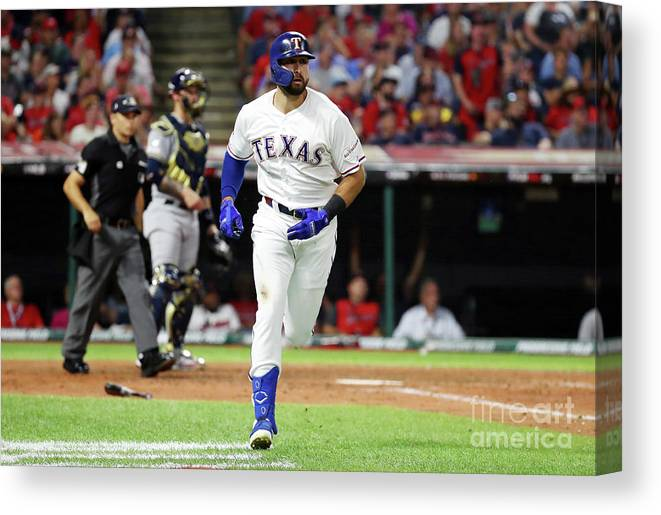 People Canvas Print featuring the photograph 2019 Mlb All-star Game, Presented By 2 by Gregory Shamus