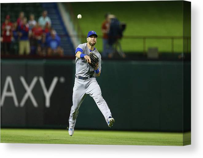 People Canvas Print featuring the photograph Alex Gordon by Ronald Martinez