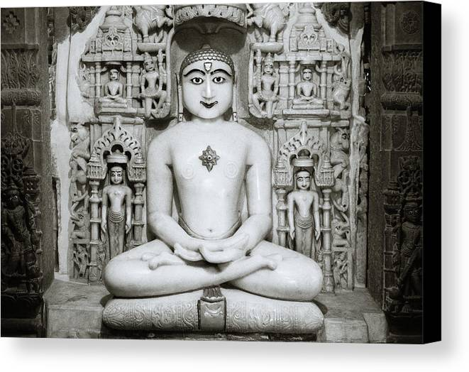India Canvas Print featuring the photograph Purity by Shaun Higson