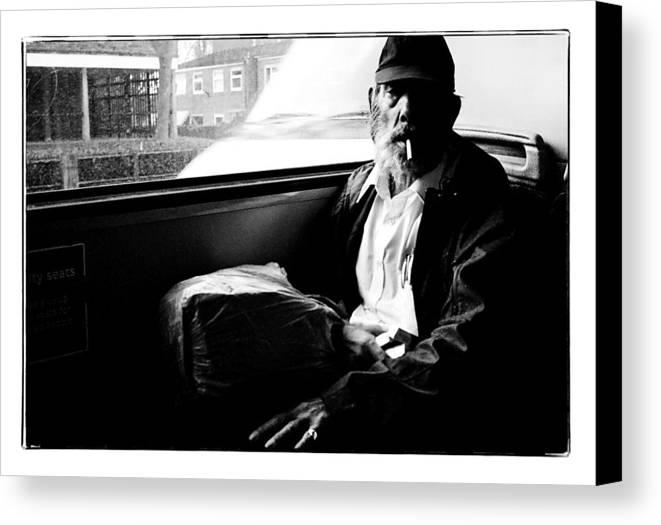 Canvas Print featuring the photograph London by Jason Pierce-Williams
