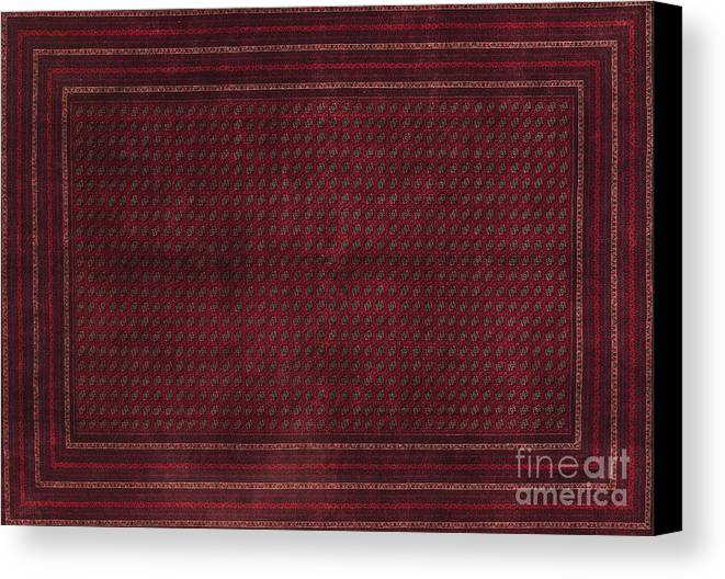 Carpet Canvas Print featuring the photograph Turkish Carpet by Emirali KOKAL