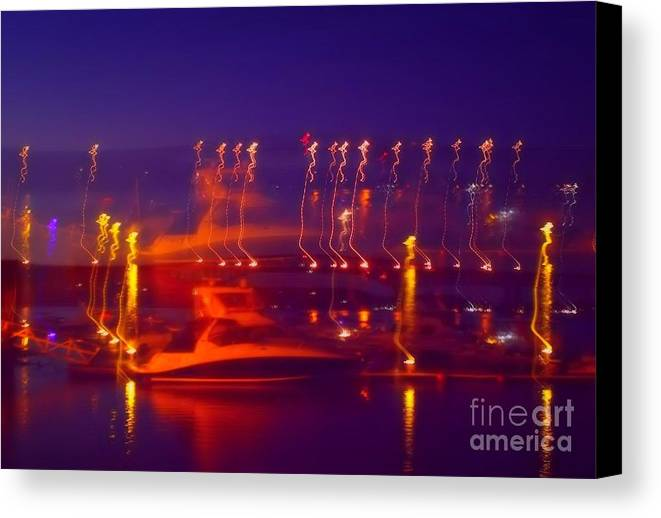 Waterscape Canvas Print featuring the photograph Newburgh Water Front by Chet B Simpson