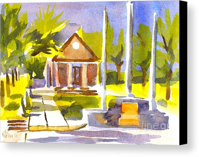 An Early Summers Morning Canvas Print featuring the painting An Early Summers Morning by Kip DeVore