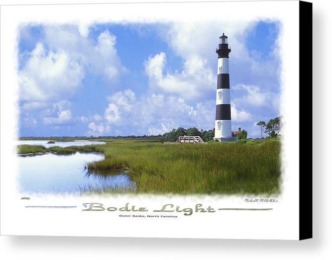 Bodie Lighthouse Canvas Print featuring the photograph Bodie Light S P by Mike McGlothlen