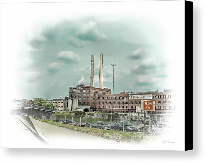 Building Canvas Print featuring the photograph H. J. Heinz Company by Dyle  Warren