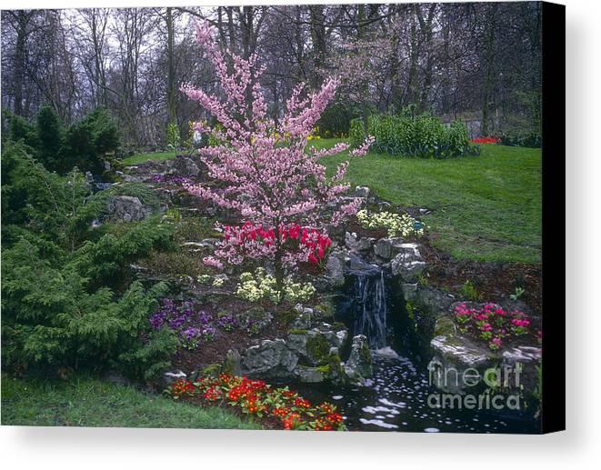 Keukenhof Gardens Canvas Print featuring the photograph Keukenhof Color by Bob Phillips