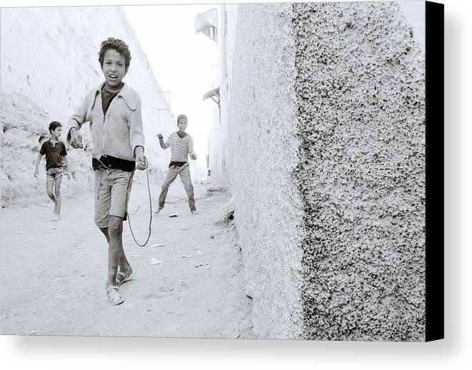 Happiness Canvas Print featuring the photograph The Joy Of Life by Shaun Higson