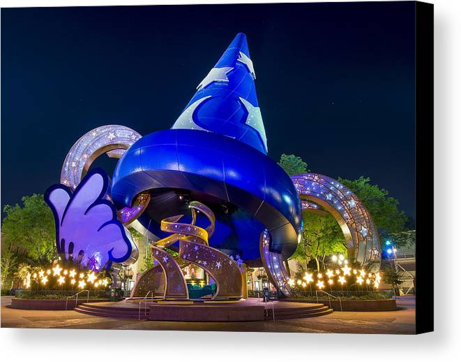 Sorcerer's Hat Canvas Print featuring the photograph Sorcerer's Hat by Carl Ruegg