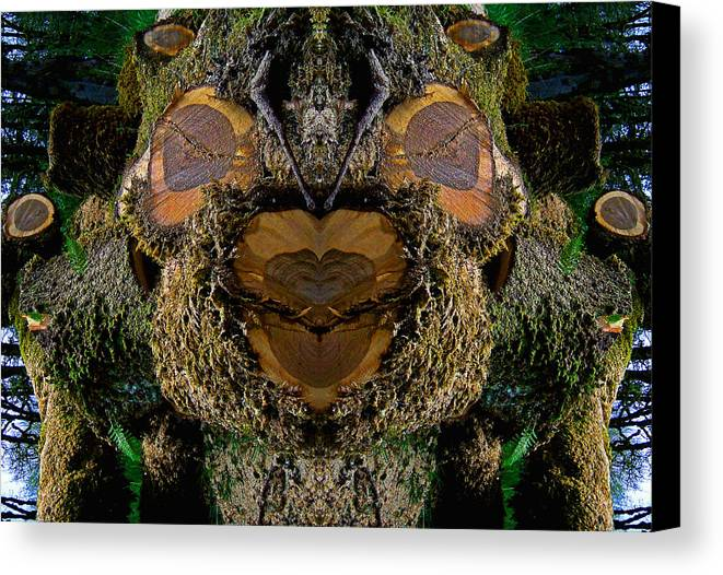 Nature Canvas Print featuring the photograph Soul Of The Fallen by Steve Battle