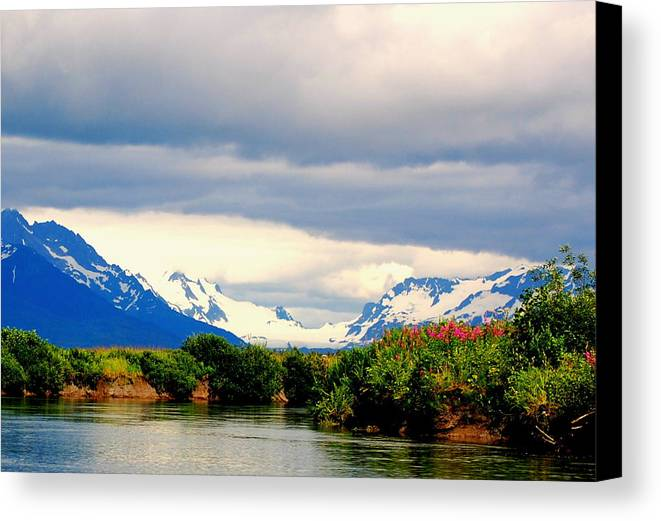 River Canvas Print featuring the photograph River Bend by Ashley Sarem