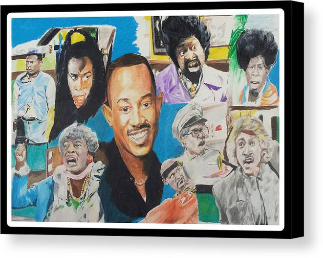 collage of the classic tv show martin canvas print canvas art by
