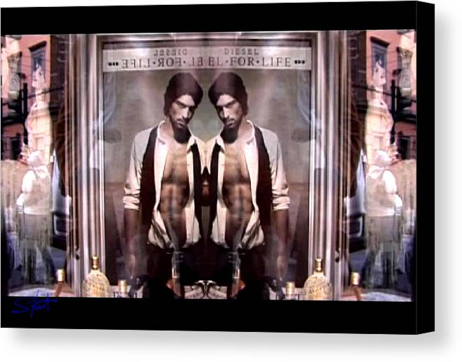 Dream Canvas Print featuring the photograph Diesel For Life by Charles Stuart