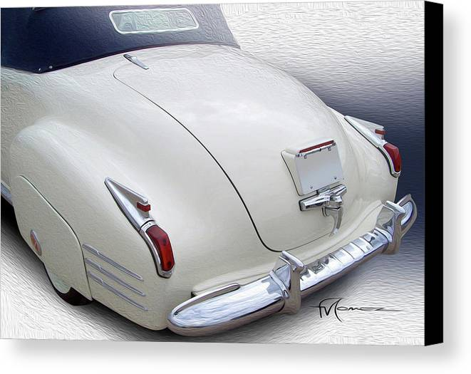 Classic Automobiles Canvas Print featuring the photograph Land Beluga by Felipe Gomez