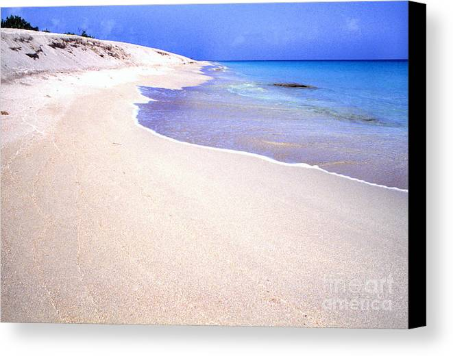 Sandy Point National Wildlife Refuge Canvas Print featuring the photograph Sandy Point National Wildlife Refuge St Croix Usvi by Thomas R Fletcher