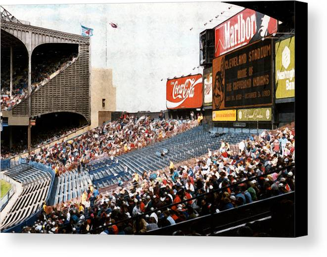 Cleveland Canvas Print featuring the photograph The Grand Finale by Kenneth Krolikowski