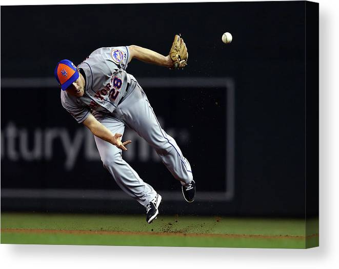 American League Baseball Canvas Print featuring the photograph 85th Mlb All Star Game 3 by Elsa