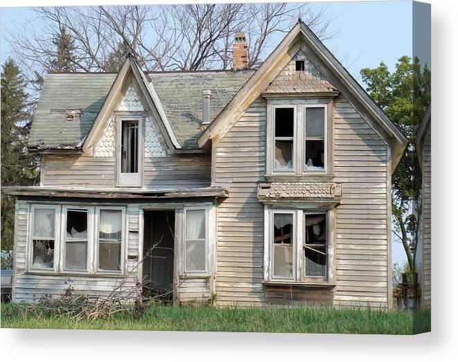 Abandoned Canvas Print featuring the photograph Demise by Bonfire Photography