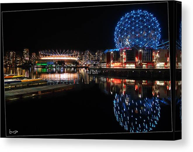 Vancouver Canvas Print featuring the photograph Vancouver's Magic by Ida Maria Pan
