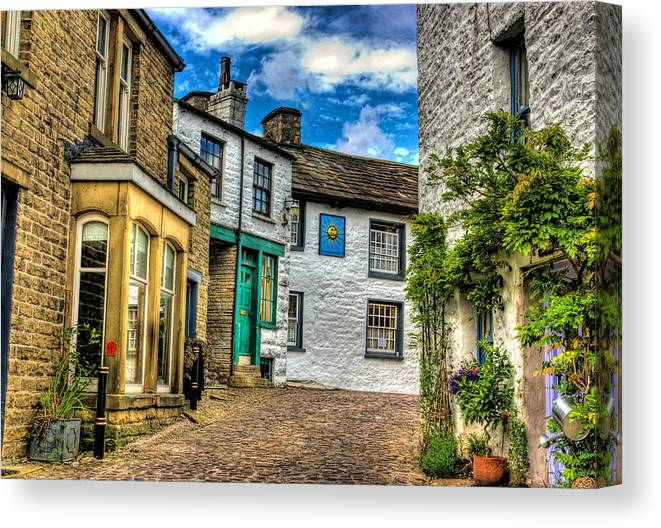 Dent Canvas Print featuring the photograph Village Street Dent by Trevor Kersley