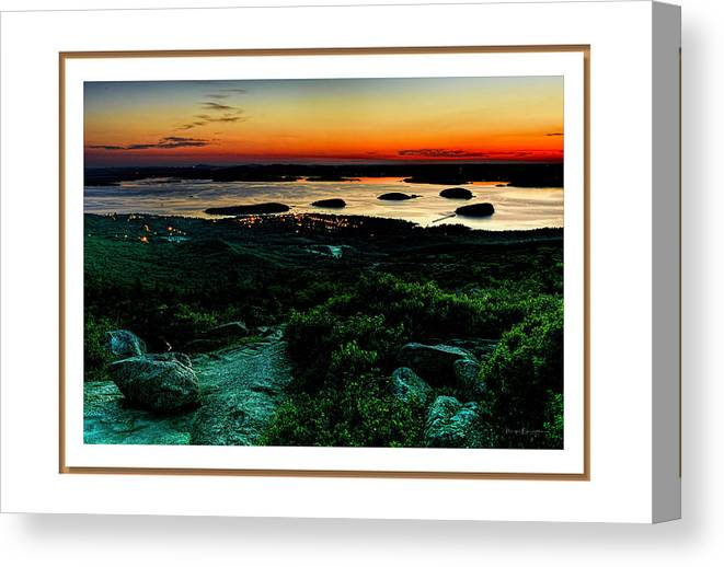 04-landscape Canvas Print featuring the photograph Sunrise by Myer Bornstein