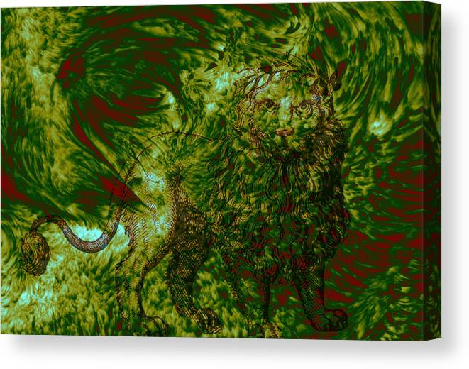 Forest Canvas Print featuring the photograph Can You See Me by Evelyn Patrick