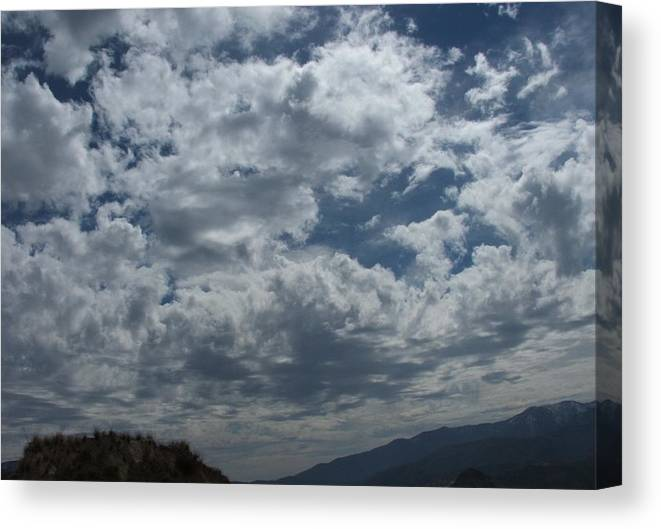 Clouds Canvas Print featuring the photograph Daydreaming by Shari Chavira
