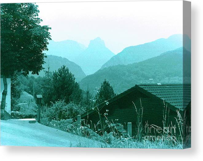 France Canvas Print featuring the photograph Foothills Of The Alps by Fred Jinkins