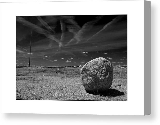 Landscape Canvas Print featuring the photograph Rock by Filipe N Marques