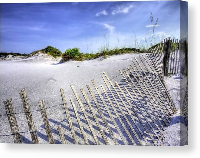 The Beaches Of South Walton Canvas Print featuring the photograph South Walton Beaches by JC Findley