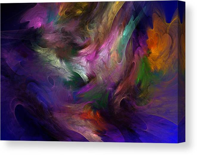 Fantasy Canvas Print featuring the digital art Untitled 01-12-10 by David Lane