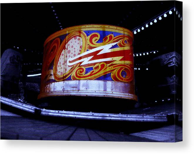 Waltzer Canvas Print featuring the photograph Waltzer by Charles Stuart