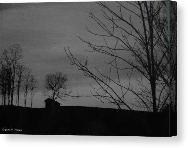 Ghosts Canvas Print featuring the photograph Whispers In Ohio by Jason R Hampton