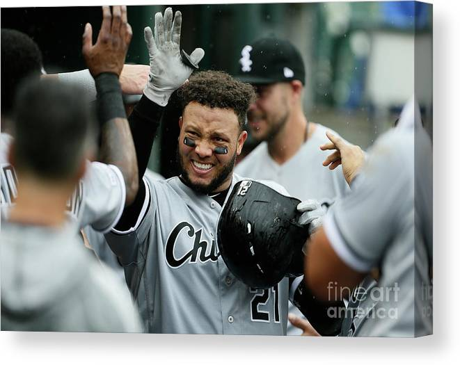 People Canvas Print featuring the photograph Chicago White Sox V Detroit Tigers - 12 by Duane Burleson