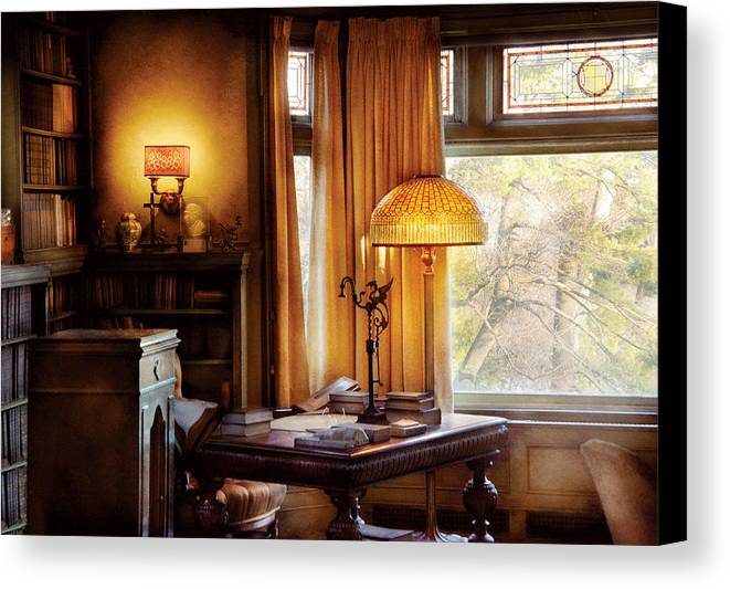 Savad Canvas Print featuring the photograph Author - Style And Class by Mike Savad